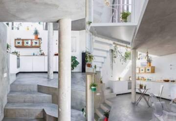 Prix du Jury Mention Maison neuve 2019 - Projet à Montreuil – Architectes : MOVA – Manuèle van der Hoeven et Frédéric Mouly