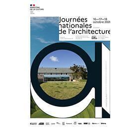 Design graphique : Chevalvert • Image architecture : Centre culturel Le Tourp, Omonville-la-Rogue, 2002 / Architecture Patrick Mauger © Didier Boy de la Tour • Ciel : © Nathalia Segato • Végétale : © Sa Osir