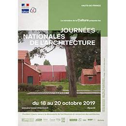 Affiche des Journées nationales de l'architecture en région Hauts-de-France